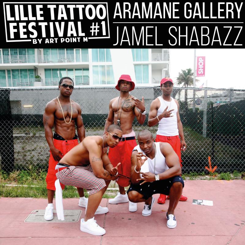 Jamel Shabazz Lille tatto festival Aramane Gallery