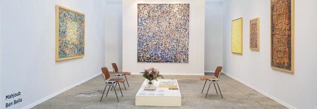 Solo show Mahjoub BEN BELLA (Art Paris 2020)